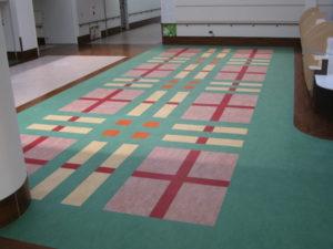 MTech病院床貼施工