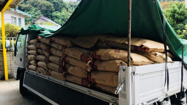 白石商業トラック配送