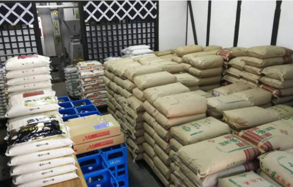 全国各地からお米を流通白石商業